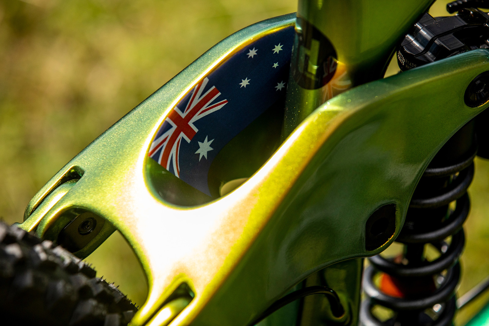 No, Seriously, the Details - WORLD CHAMPS BIKE - Connor Fearon's Kona Operator - Mountain Biking Pictures - Vital MTB