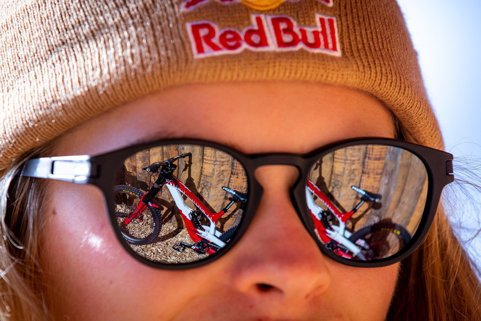 Reflecting on the Future - WORLD CHAMPS BIKE - Vali Holl's YT TUES - Mountain Biking Pictures - Vital MTB