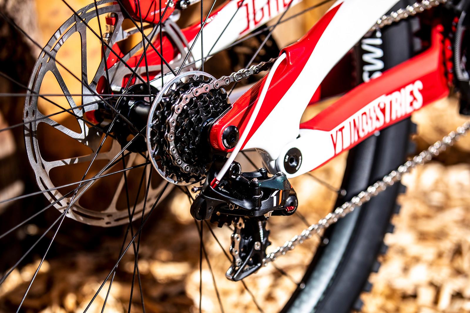 SRAM X0 DH Drivetrain - WORLD CHAMPS BIKE - Vali Holl's YT TUES - Mountain Biking Pictures - Vital MTB