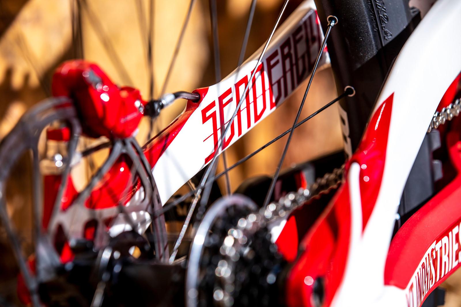 Senderella - WORLD CHAMPS BIKE - Vali Holl's YT TUES - Mountain Biking Pictures - Vital MTB