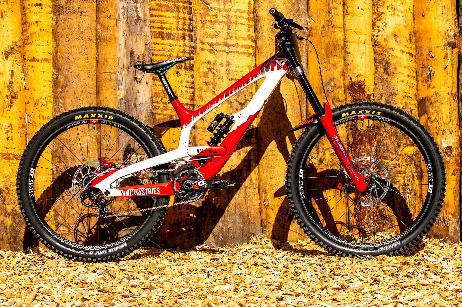 WORLD CHAMPS BIKE - Vali Holl's YT TUES - WORLD CHAMPS BIKE - Vali Holl's YT TUES - Mountain Biking Pictures - Vital MTB