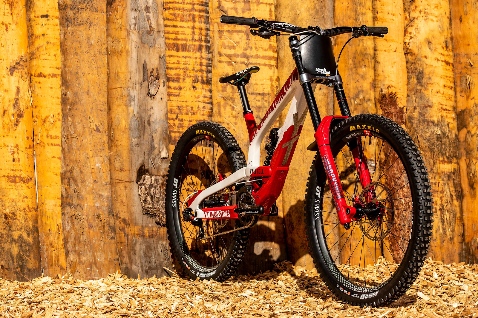 Lenzer18 O5A0687 - WORLD CHAMPS BIKE - Vali Holl's YT TUES - Mountain Biking Pictures - Vital MTB