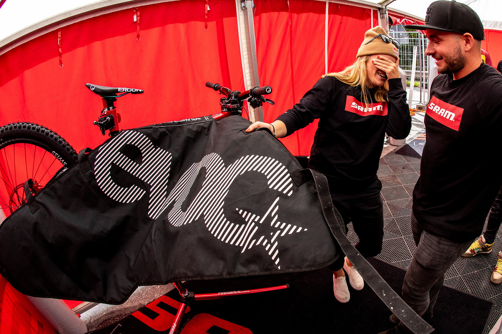 The Unveiling - WORLD CHAMPS BIKE - Vali Holl's YT TUES - Mountain Biking Pictures - Vital MTB