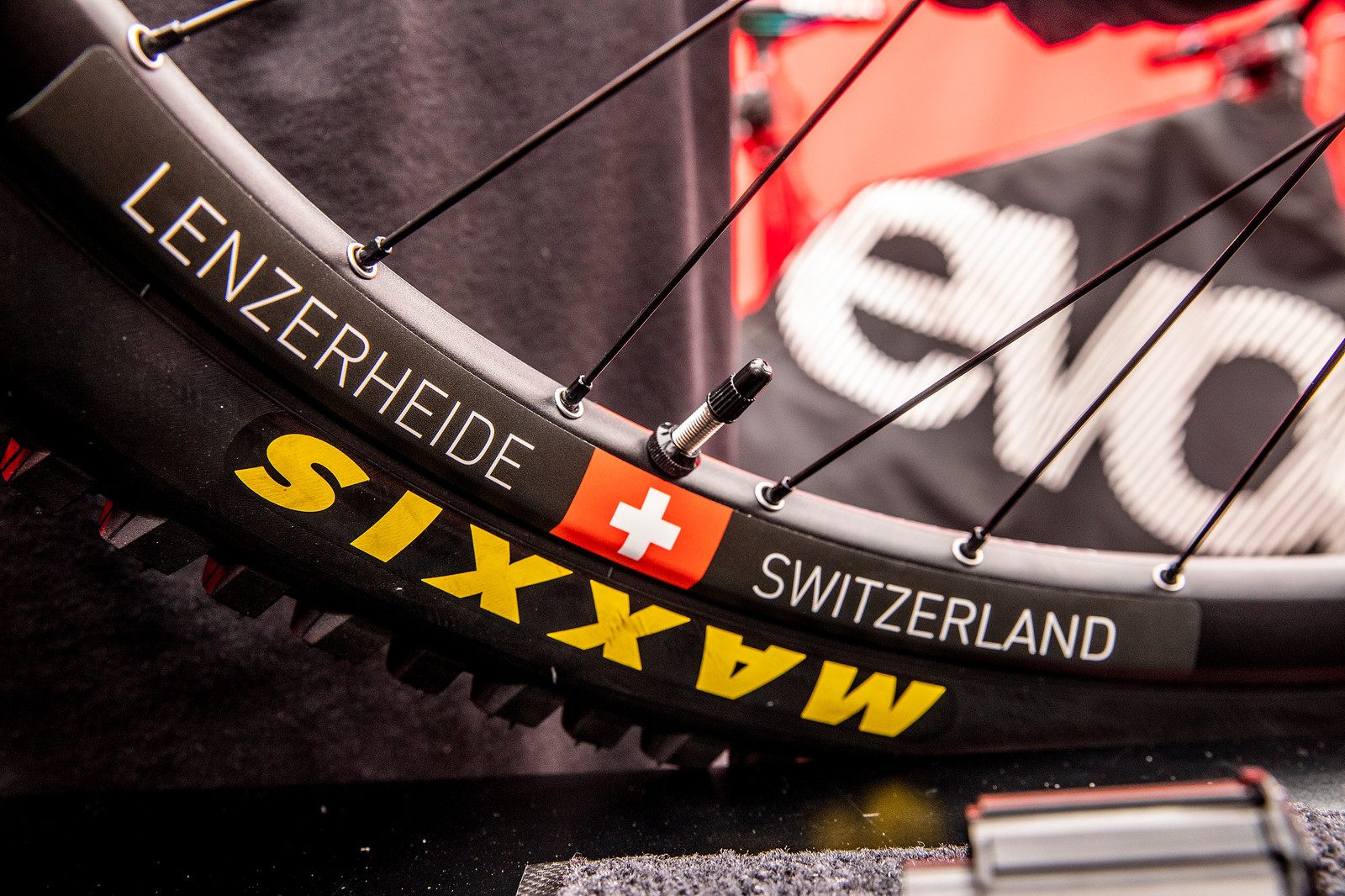 Race-Specific Wheels - WORLD CHAMPS BIKE - Vali Holl's YT TUES - Mountain Biking Pictures - Vital MTB