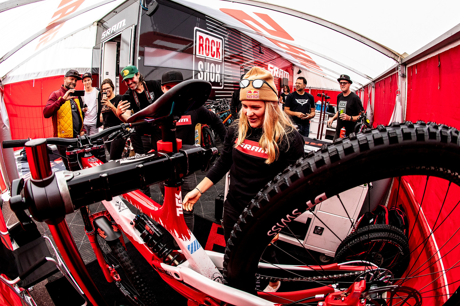 OH SNAP! - WORLD CHAMPS BIKE - Vali Holl's YT TUES - Mountain Biking Pictures - Vital MTB