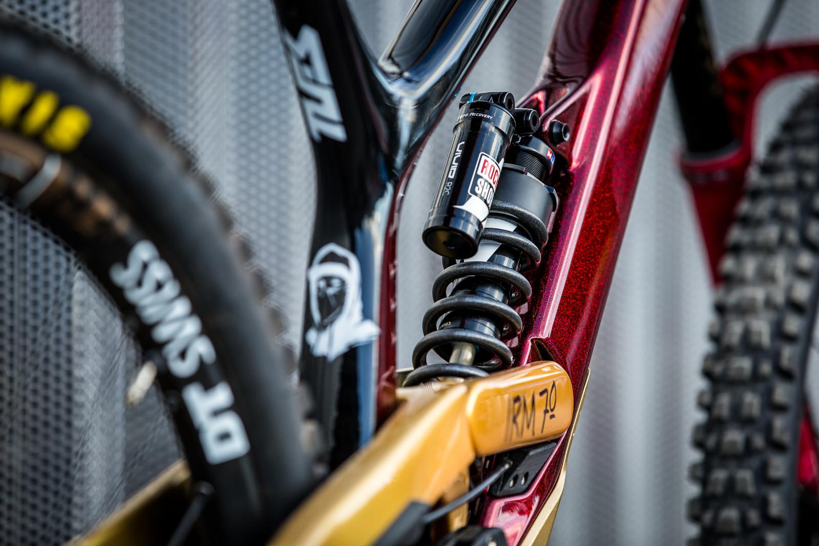 RockShox Vivid Coil R2C - WORLD CHAMPS BIKES - Erik Irmisch's YT TUES - Mountain Biking Pictures - Vital MTB