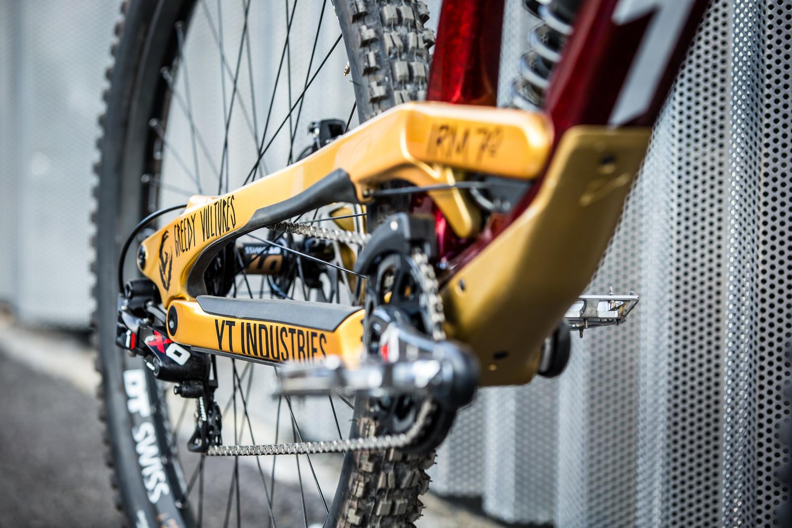 Killer Color Combo - WORLD CHAMPS BIKES - Erik Irmisch's YT TUES - Mountain Biking Pictures - Vital MTB