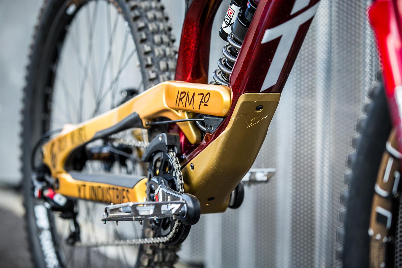 @IRM_70 - WORLD CHAMPS BIKES - Erik Irmisch's YT TUES - Mountain Biking Pictures - Vital MTB