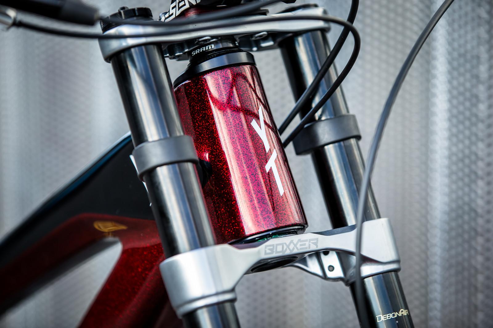 All That Glitters - WORLD CHAMPS BIKES - Erik Irmisch's YT TUES - Mountain Biking Pictures - Vital MTB