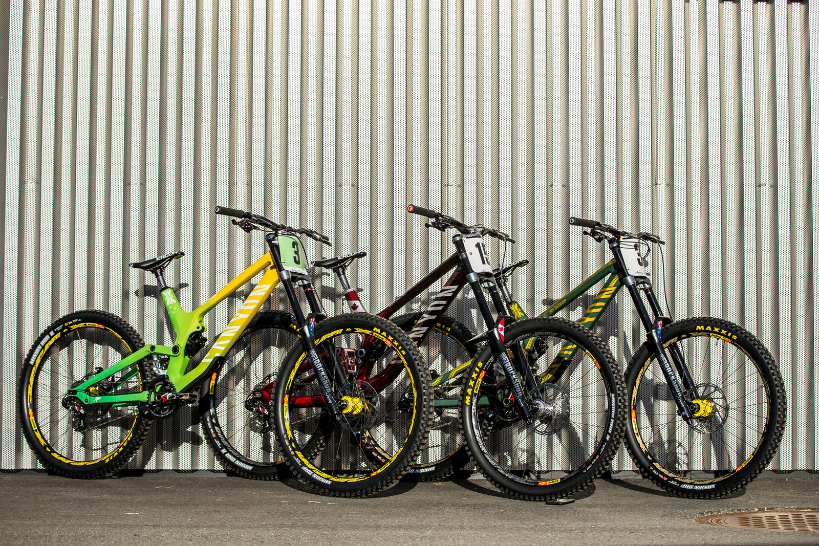 WORLD CHAMPS BIKES - Canyon Factory Racing - WORLD CHAMPS BIKES - Canyon Factory Racing - Mountain Biking Pictures - Vital MTB