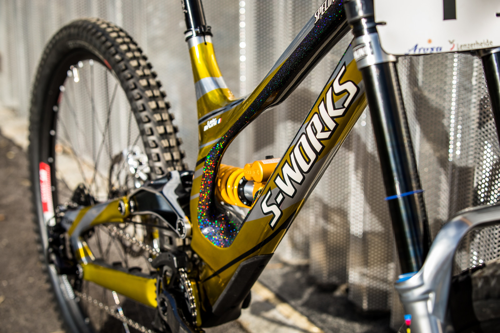 S-Works Takes Center Stage - WORLD CHAMPS BIKE - Loic Bruni's Specialized Demo - Mountain Biking Pictures - Vital MTB