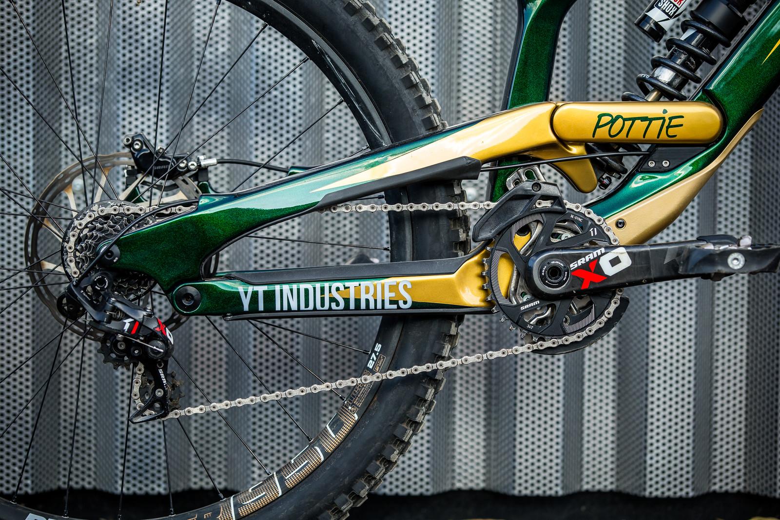 Pottie - WORLD CHAMPS BIKE - Johann Potgieter's YT TUES - Mountain Biking Pictures - Vital MTB