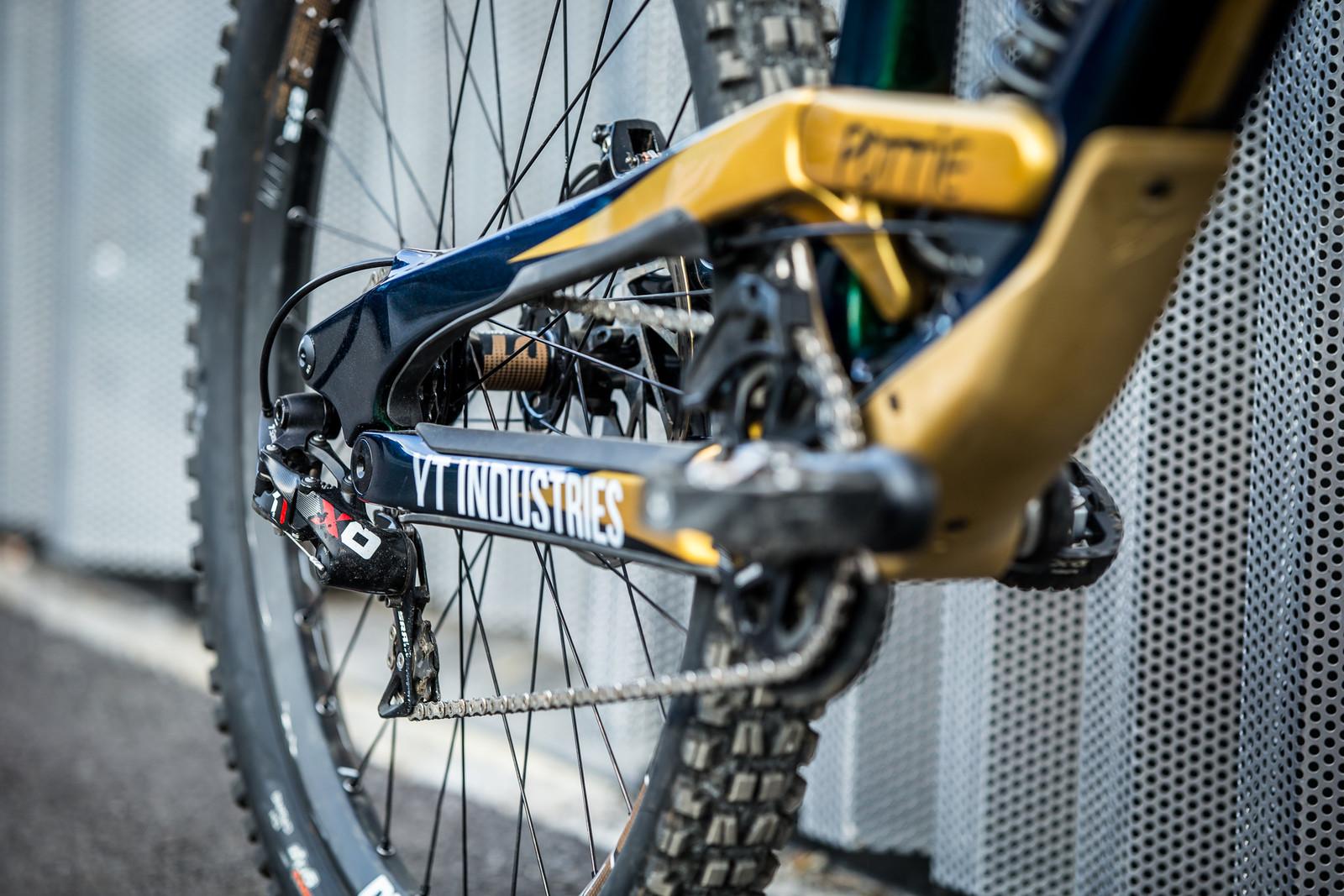 X0 DH Drivetrain - WORLD CHAMPS BIKE - Johann Potgieter's YT TUES - Mountain Biking Pictures - Vital MTB