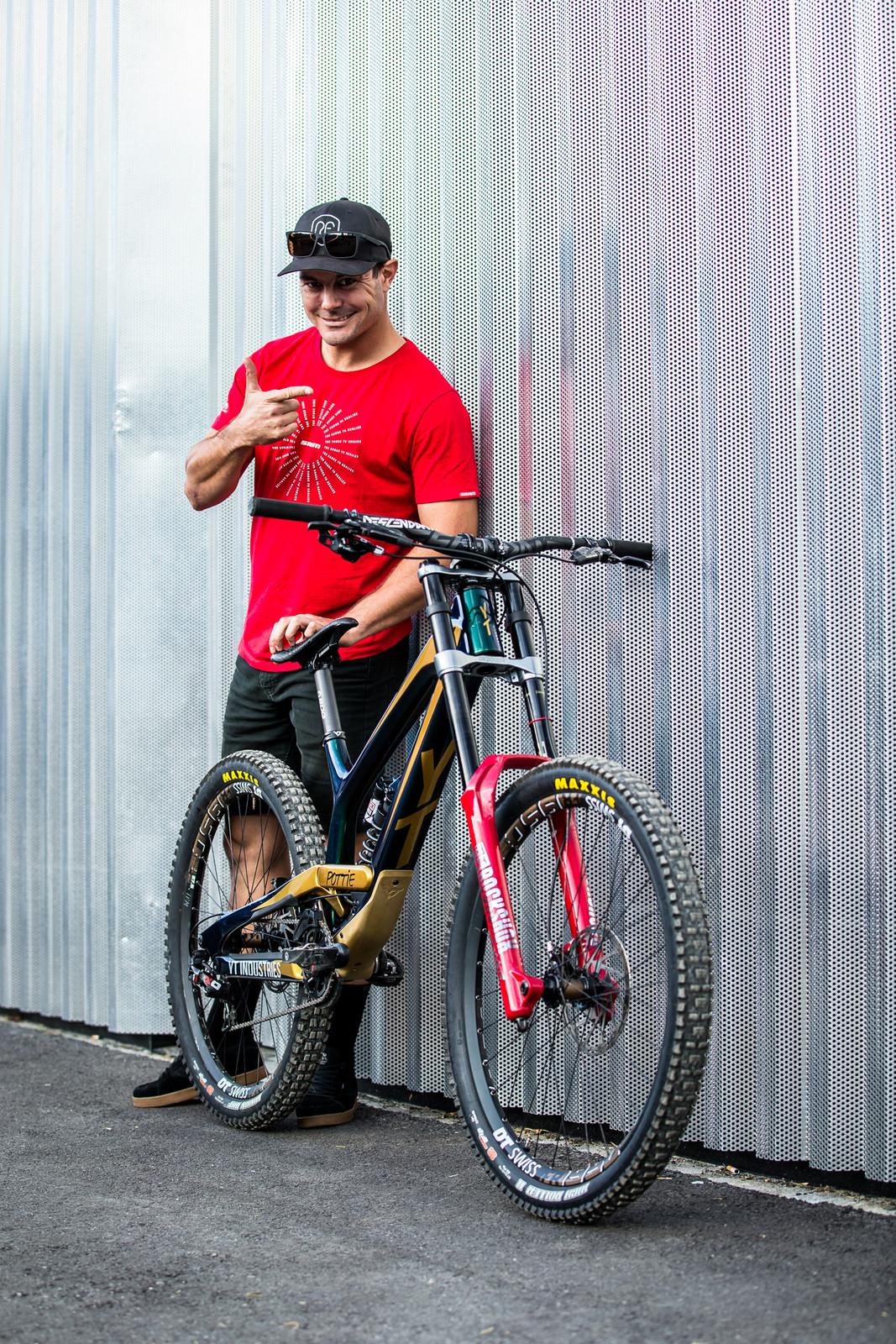 OH YEAH - WORLD CHAMPS BIKE - Johann Potgieter's YT TUES - Mountain Biking Pictures - Vital MTB