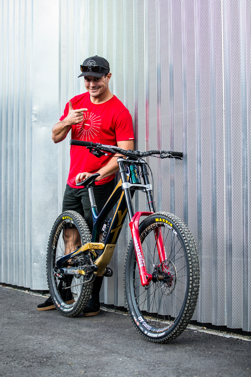 OH YEAH - WORLD CHAMPS BIKE - Johann Potgieter's YT TUES - Mountain Biking Pictures - Vital MTB
