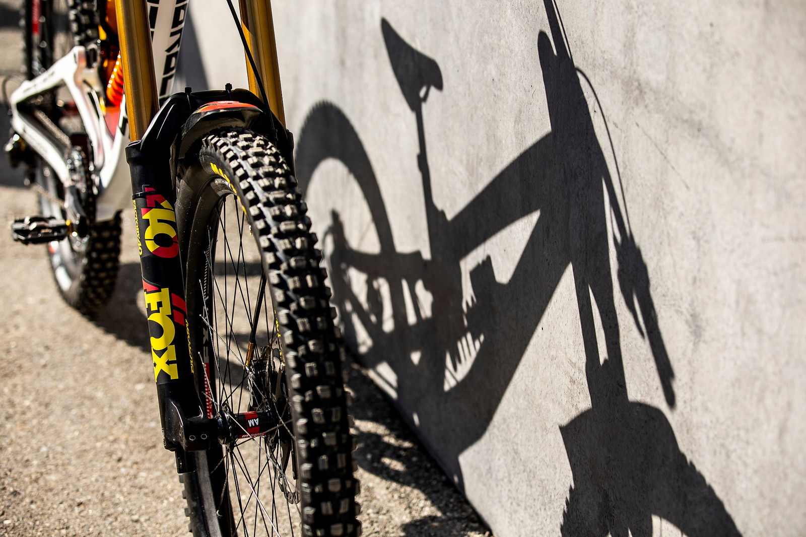 FOX 40 - WORLD CHAMPS BIKE - Alex Marin's Saracen Myst - Mountain Biking Pictures - Vital MTB