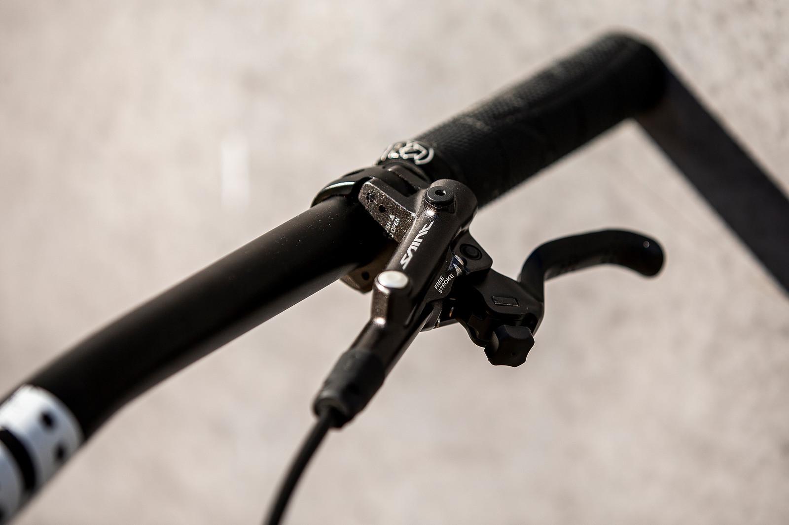 Saint Levers - WORLD CHAMPS BIKE - Alex Marin's Saracen Myst - Mountain Biking Pictures - Vital MTB