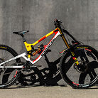 WORLD CHAMPS BIKE - Alex Marin's Saracen Myst