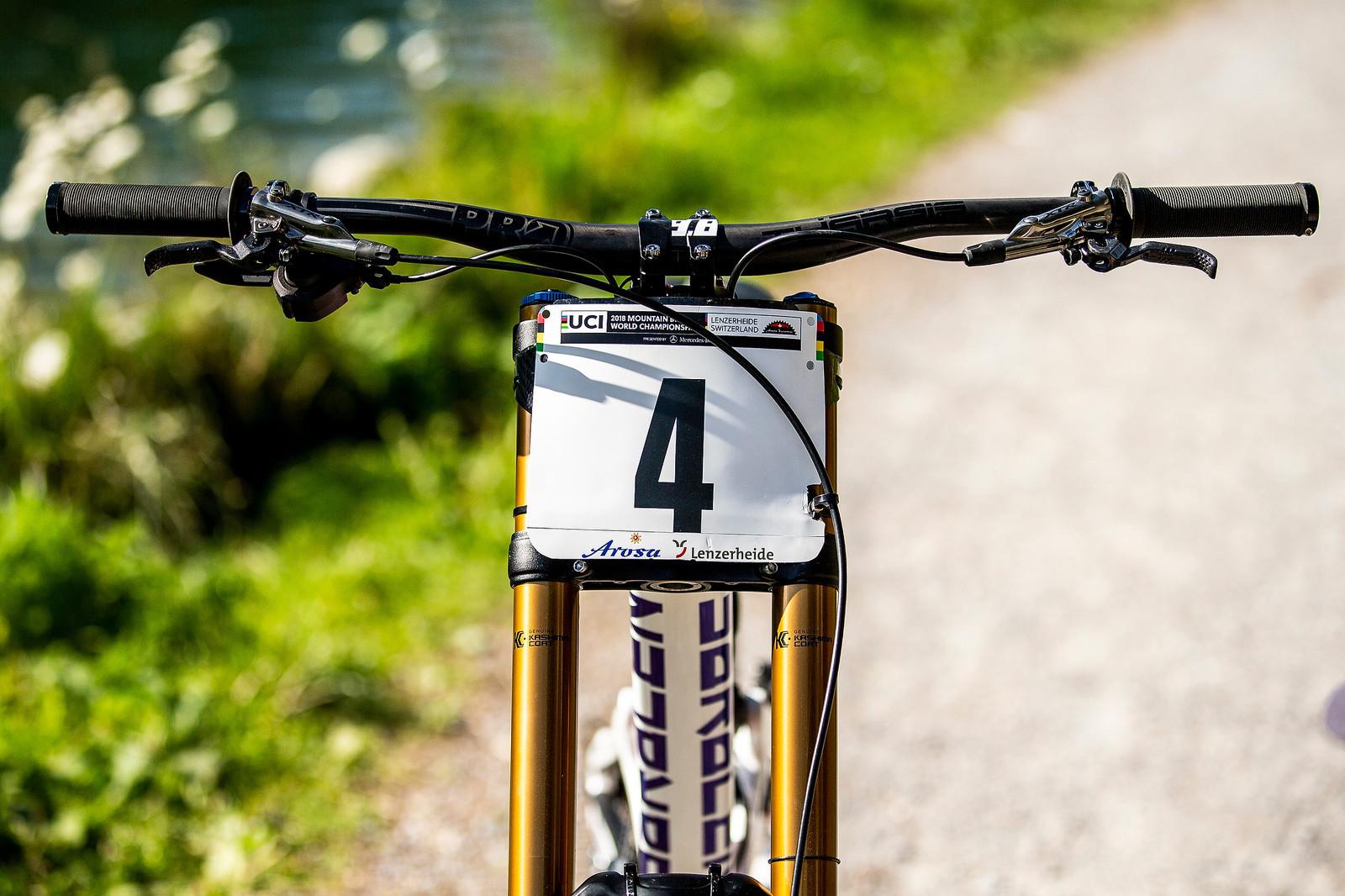 Plate #4 - WORLD CHAMPS BIKE - Danny Hart's Saracen Myst - Mountain Biking Pictures - Vital MTB