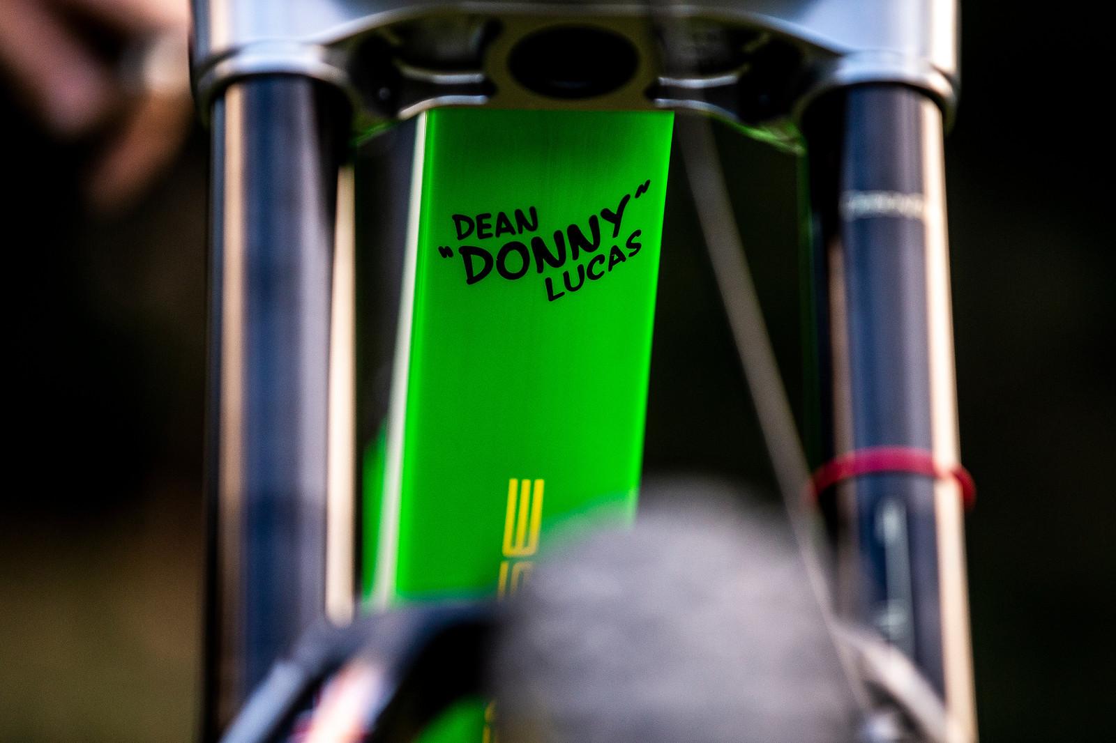 Donny the Don - WORLD CHAMPS BIKE - Dean Lucas' Intense M29 - Mountain Biking Pictures - Vital MTB