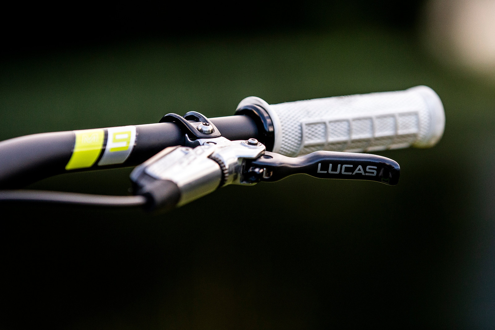 Cockpit - WORLD CHAMPS BIKE - Dean Lucas' Intense M29 - Mountain Biking Pictures - Vital MTB