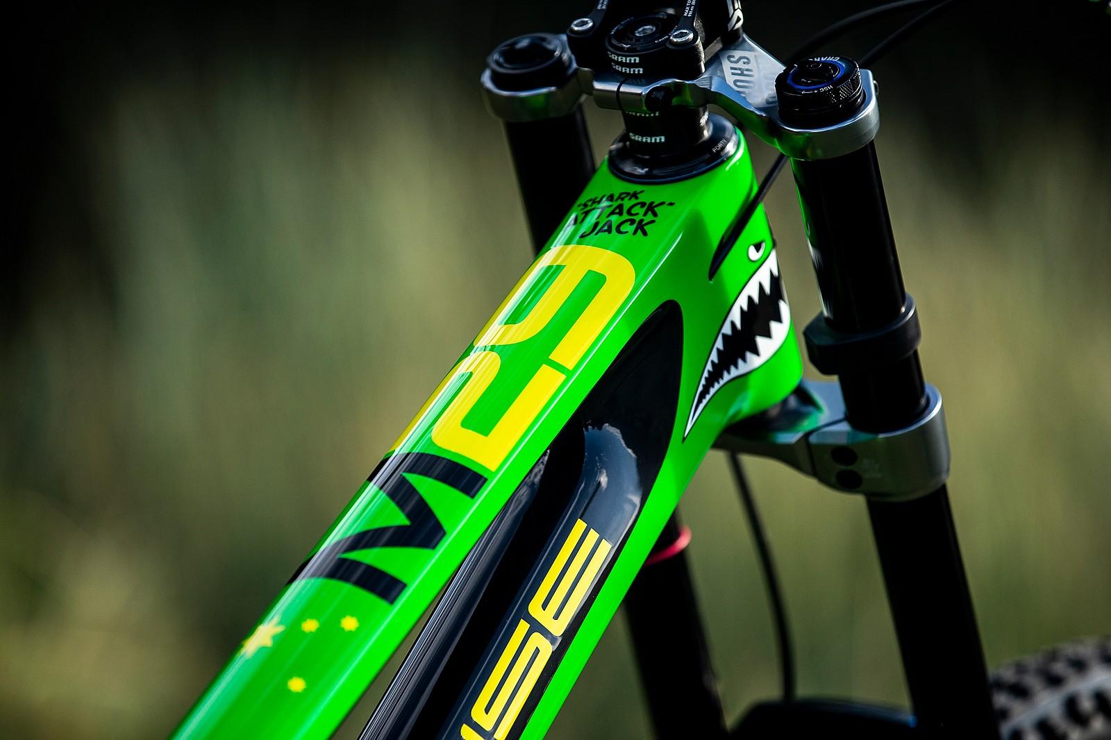 Some Like It Tall - WORLD CHAMPS BIKE - Jack Moir's Intense M29 - Mountain Biking Pictures - Vital MTB