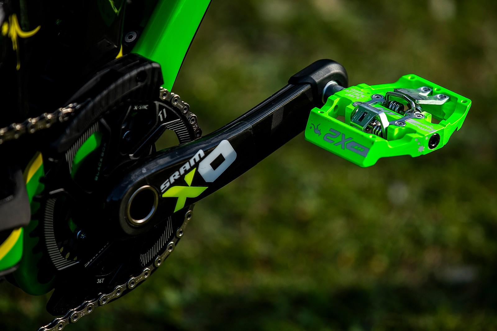 XO Cranks - WORLD CHAMPS BIKE - Jack Moir's Intense M29 - Mountain Biking Pictures - Vital MTB