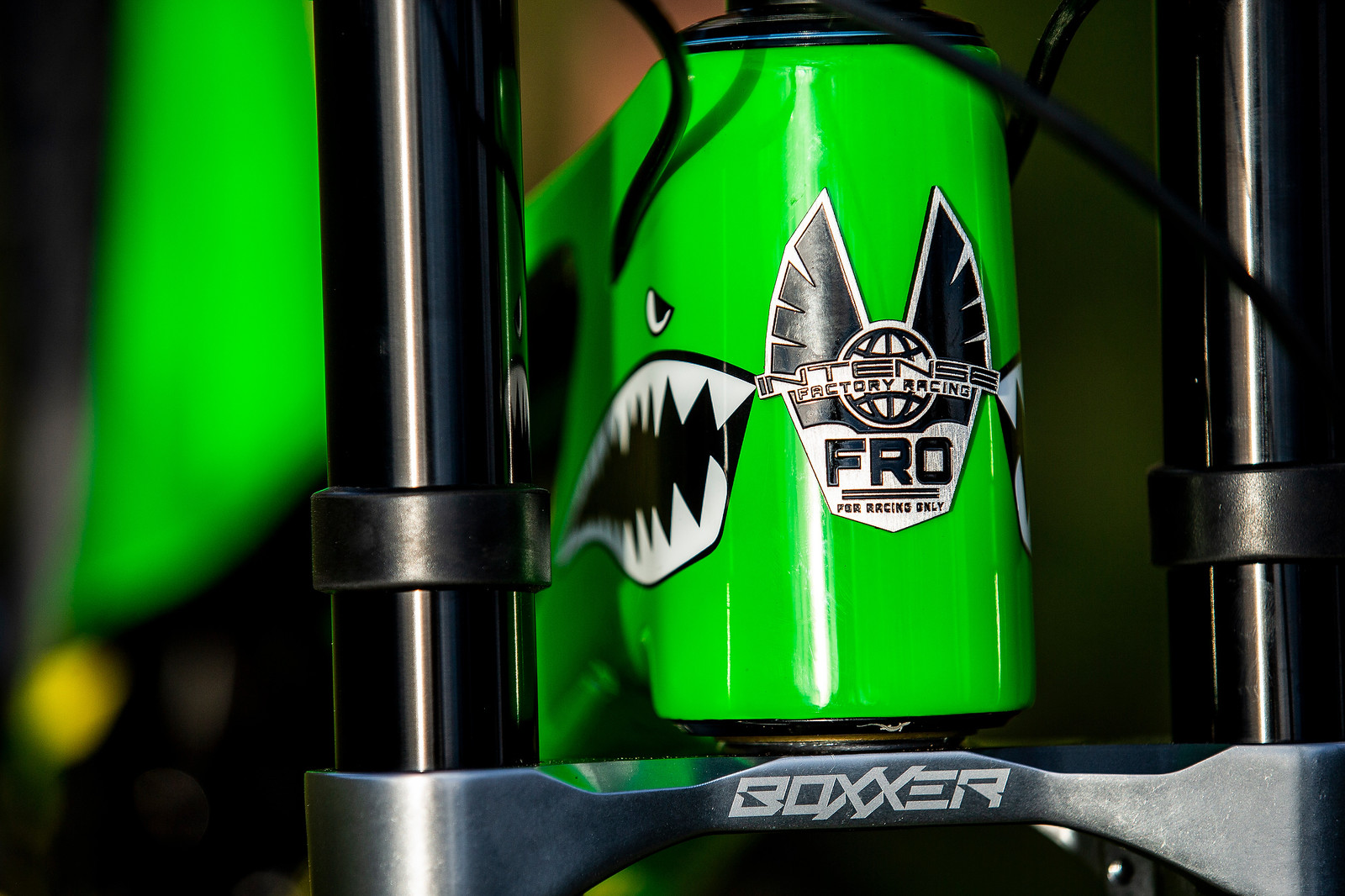 For Racers Only - WORLD CHAMPS BIKE - Jack Moir's Intense M29 - Mountain Biking Pictures - Vital MTB