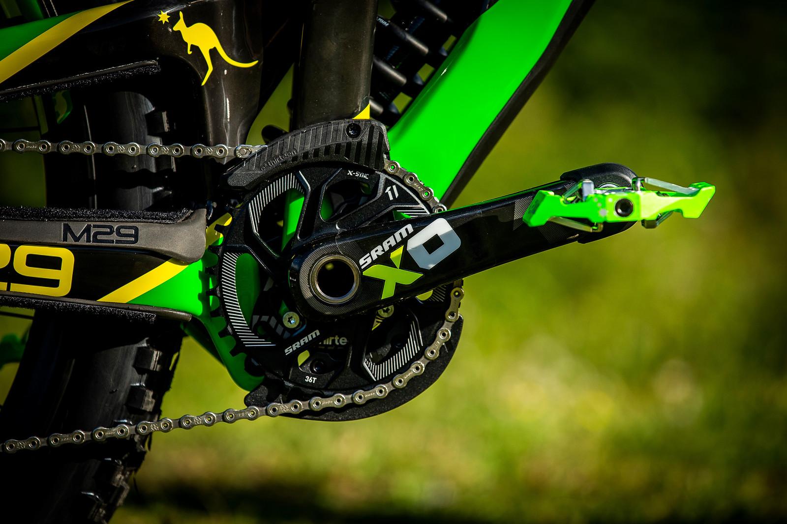 Cranky - WORLD CHAMPS BIKE - Jack Moir's Intense M29 - Mountain Biking Pictures - Vital MTB