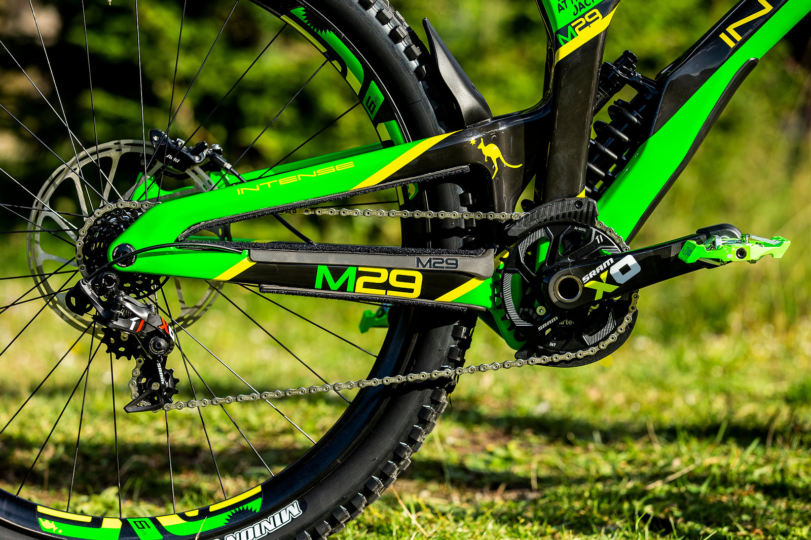 Drivetrain - WORLD CHAMPS BIKE - Jack Moir's Intense M29 - Mountain Biking Pictures - Vital MTB