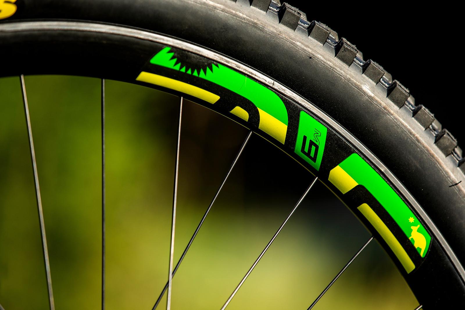 ENVE M930 Wheels - WORLD CHAMPS BIKE - Jack Moir's Intense M29 - Mountain Biking Pictures - Vital MTB