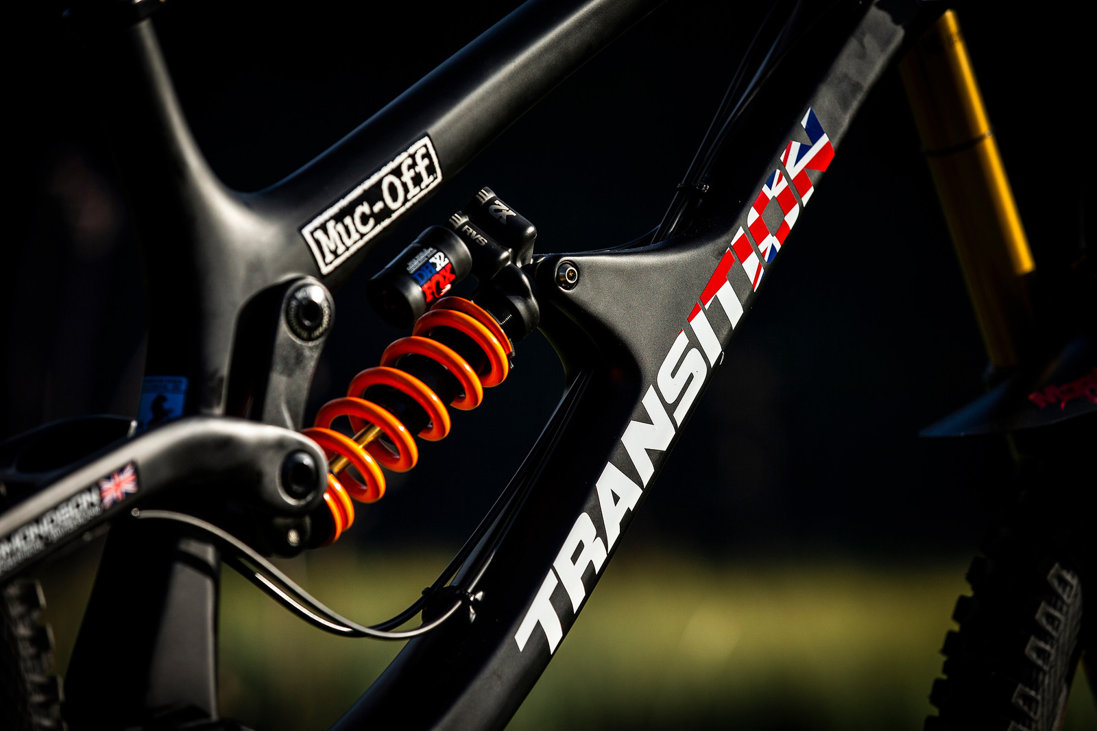 Low-Key But Ready to Rumble - WORLD CHAMPS BIKE - Jamie Edmondson's Transition TR11 - Mountain Biking Pictures - Vital MTB