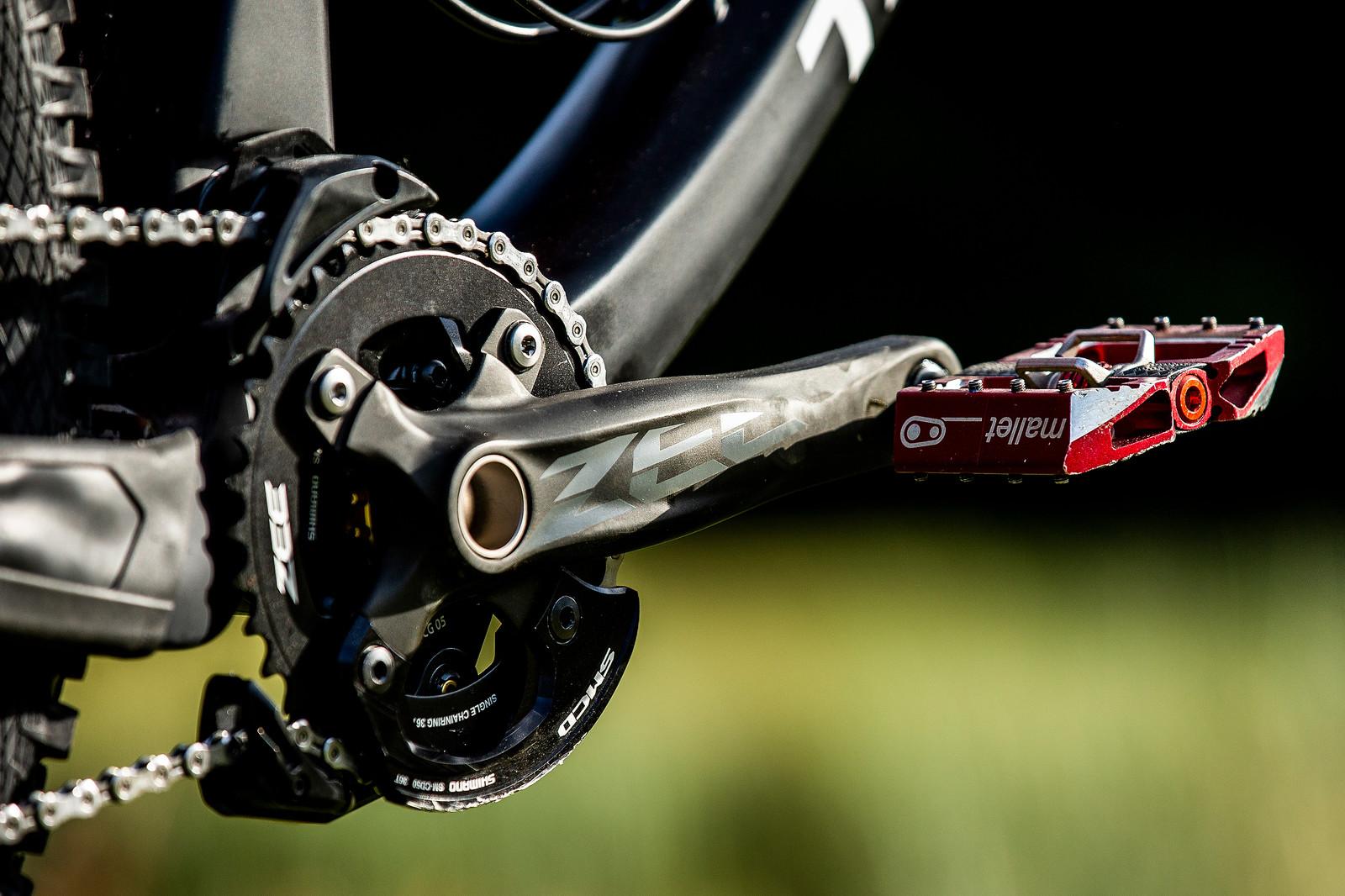 Zee Crank - WORLD CHAMPS BIKE - Jamie Edmondson's Transition TR11 - Mountain Biking Pictures - Vital MTB