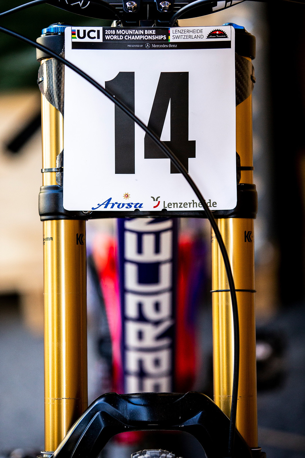 Drop the 4, Leave the 1 - WORLD CHAMPS BIKE - Matt Walker's Saracen Myst - Mountain Biking Pictures - Vital MTB