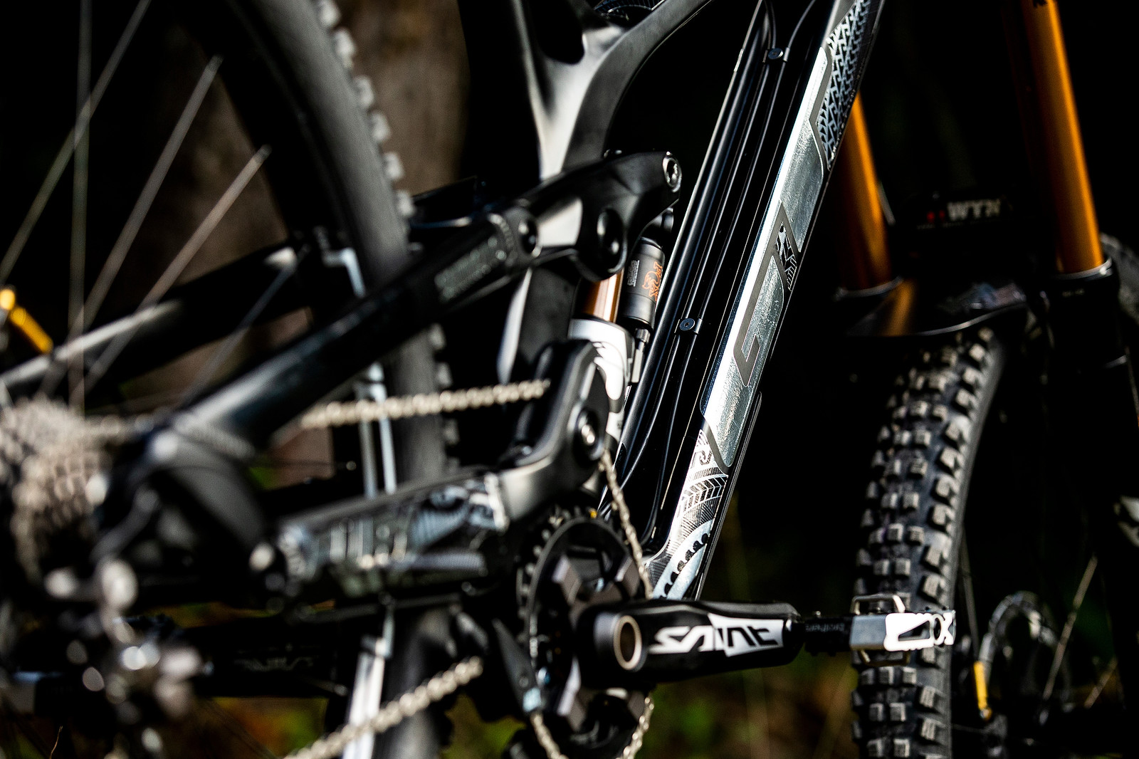 Black and Silver - WORLD CHAMPS BIKE - Wyn Masters' GT Fury - Mountain Biking Pictures - Vital MTB