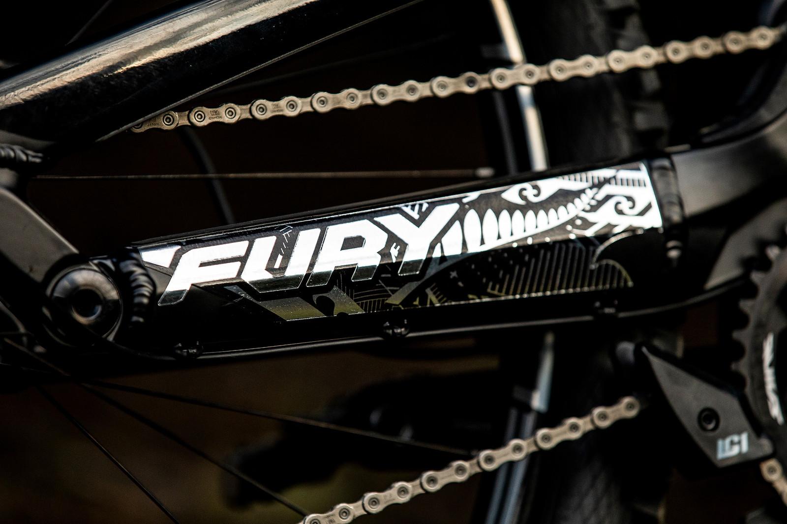 Flight of Fury - WORLD CHAMPS BIKE - Wyn Masters' GT Fury - Mountain Biking Pictures - Vital MTB
