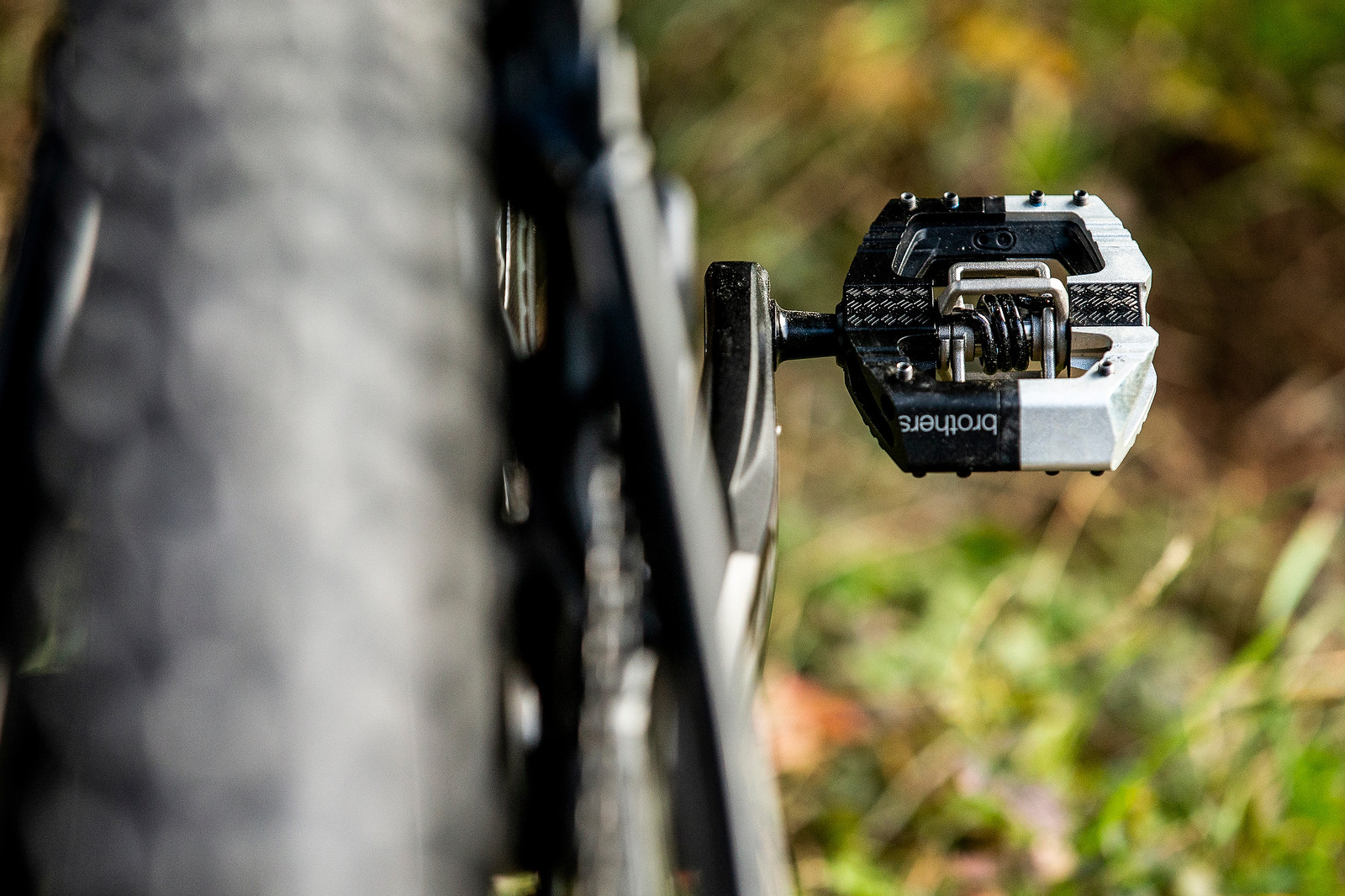 Crankbrothers Mallets - WORLD CHAMPS BIKE - Wyn Masters' GT Fury - Mountain Biking Pictures - Vital MTB