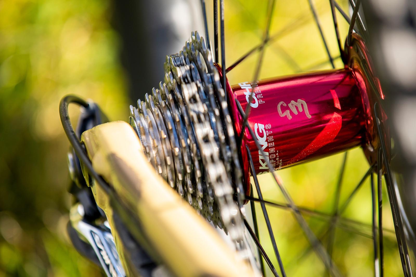Chris King Hubs - WORLD CHAMPS BIKE - Greg Minnaar's Santa Cruz V10 - Mountain Biking Pictures - Vital MTB