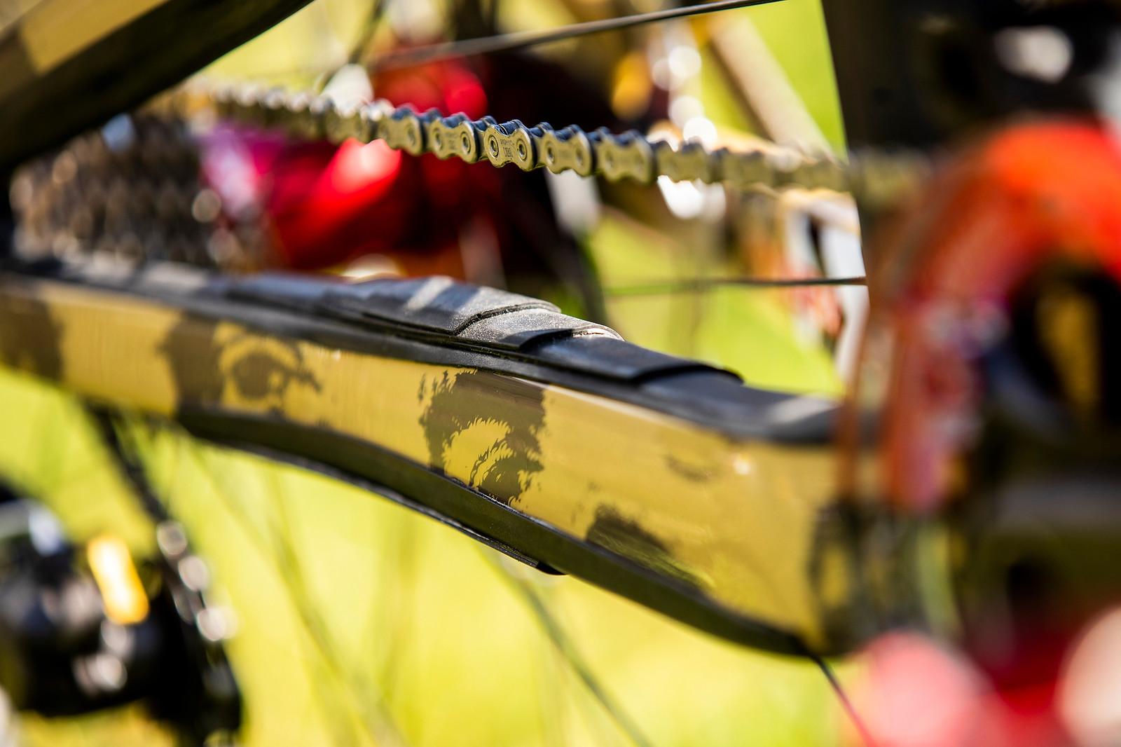Keep It Down in There - WORLD CHAMPS BIKE - Greg Minnaar's Santa Cruz V10 - Mountain Biking Pictures - Vital MTB