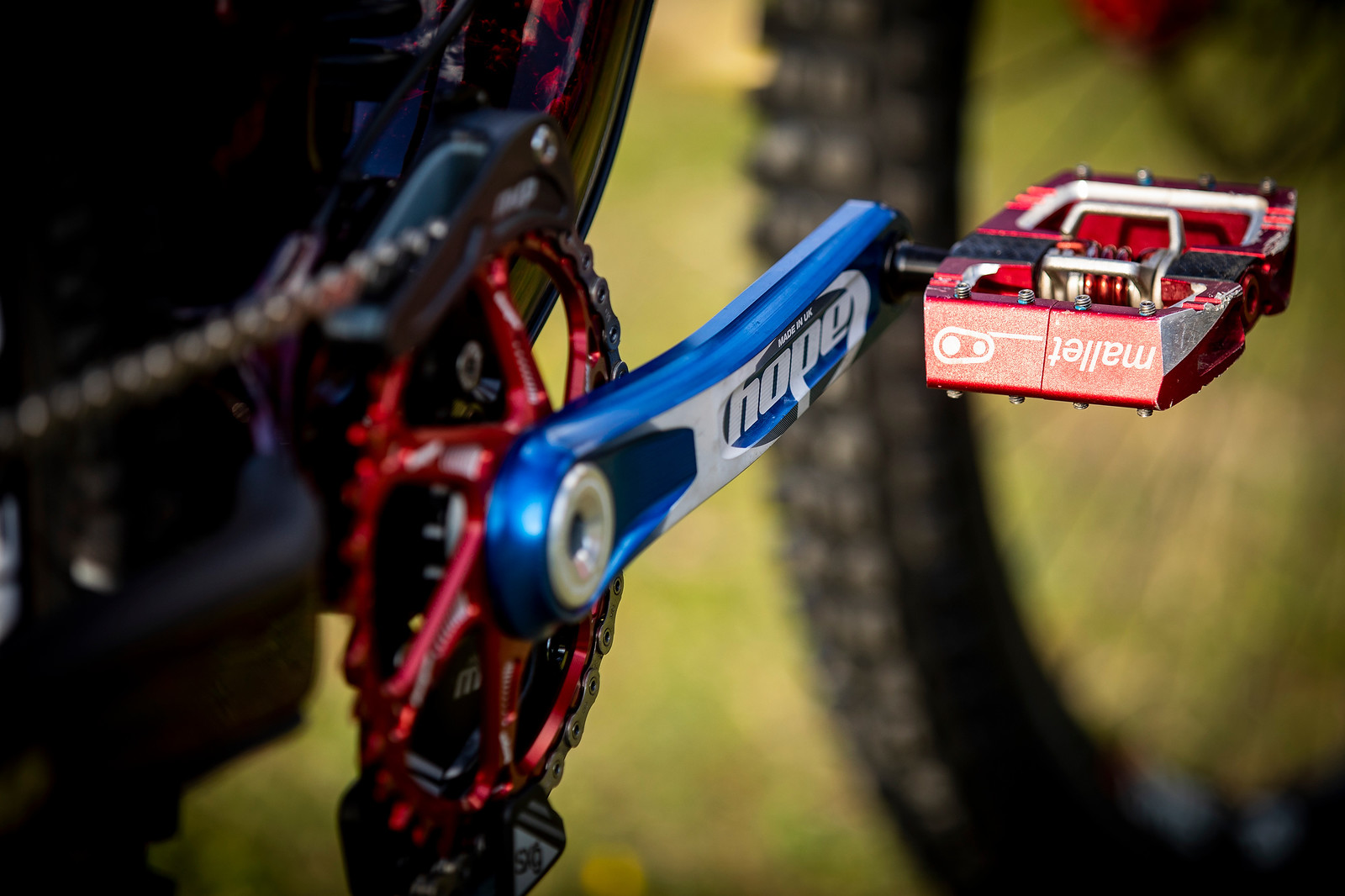 Cranks of Color - WORLD CHAMPS BIKE - Kade Edwards' Trek Session - Mountain Biking Pictures - Vital MTB