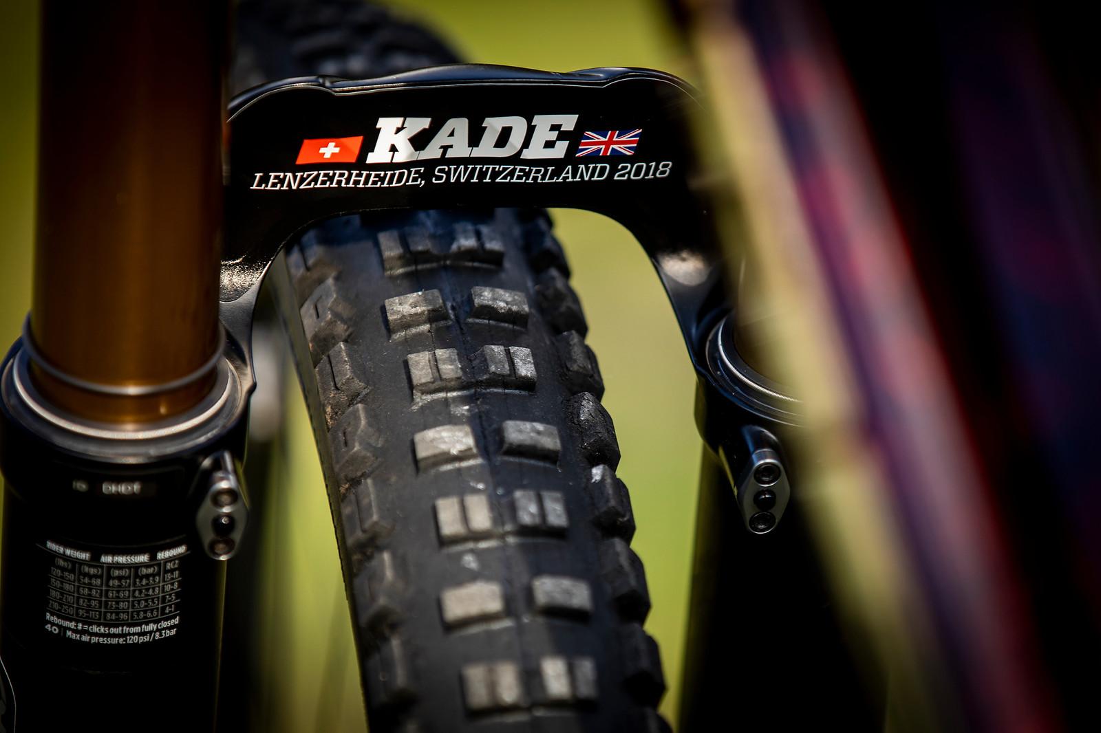 Kade is Koming? - WORLD CHAMPS BIKE - Kade Edwards' Trek Session - Mountain Biking Pictures - Vital MTB