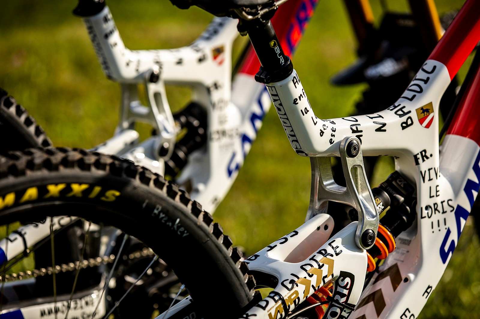 It's Like... - WORLD CHAMPS BIKES - Loris Vergier's Santa Cruz V10s - Mountain Biking Pictures - Vital MTB