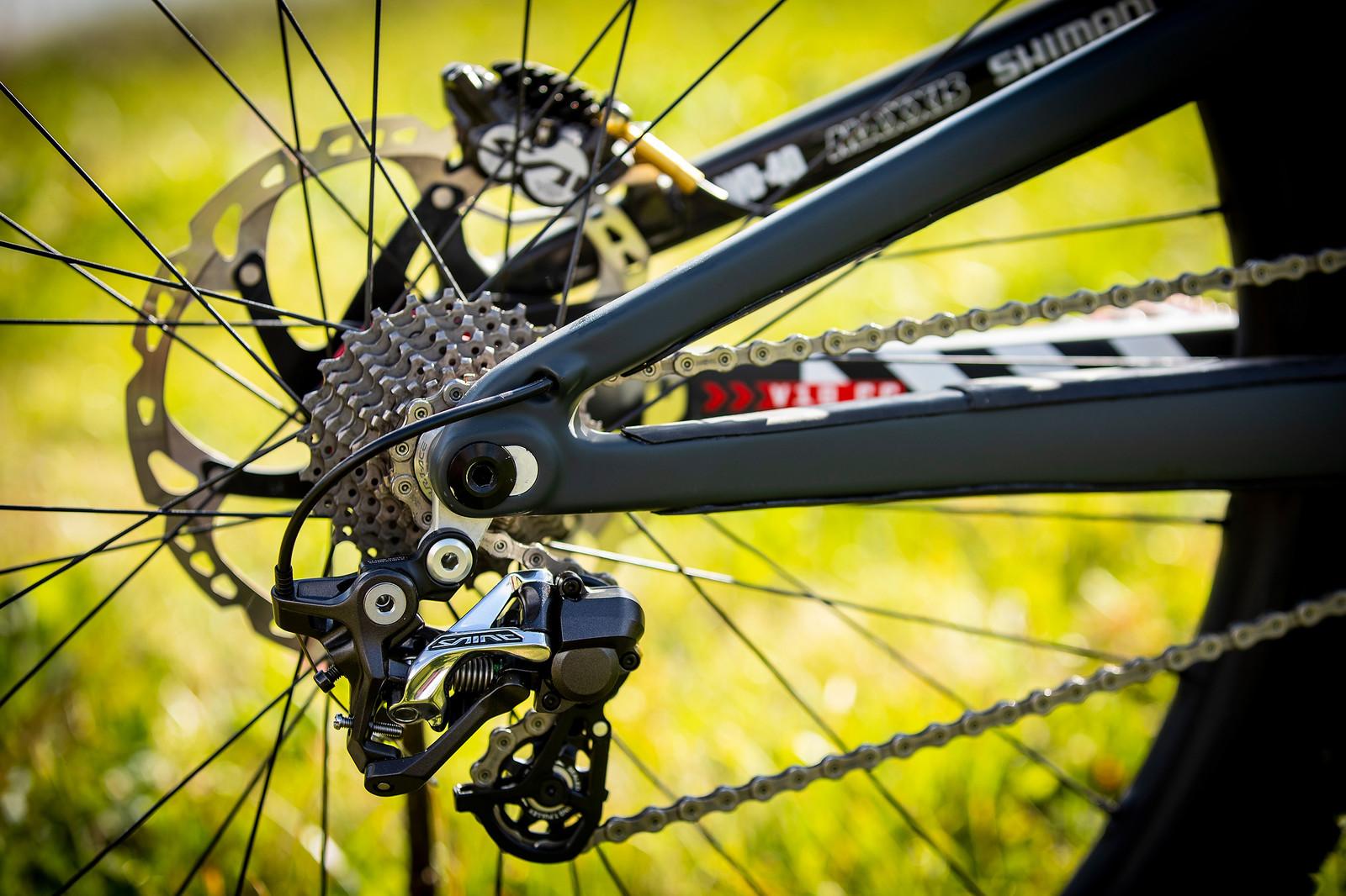 The All Saints - WORLD CHAMPS BIKE - Luca Shaw's Santa Cruz V10 - Mountain Biking Pictures - Vital MTB