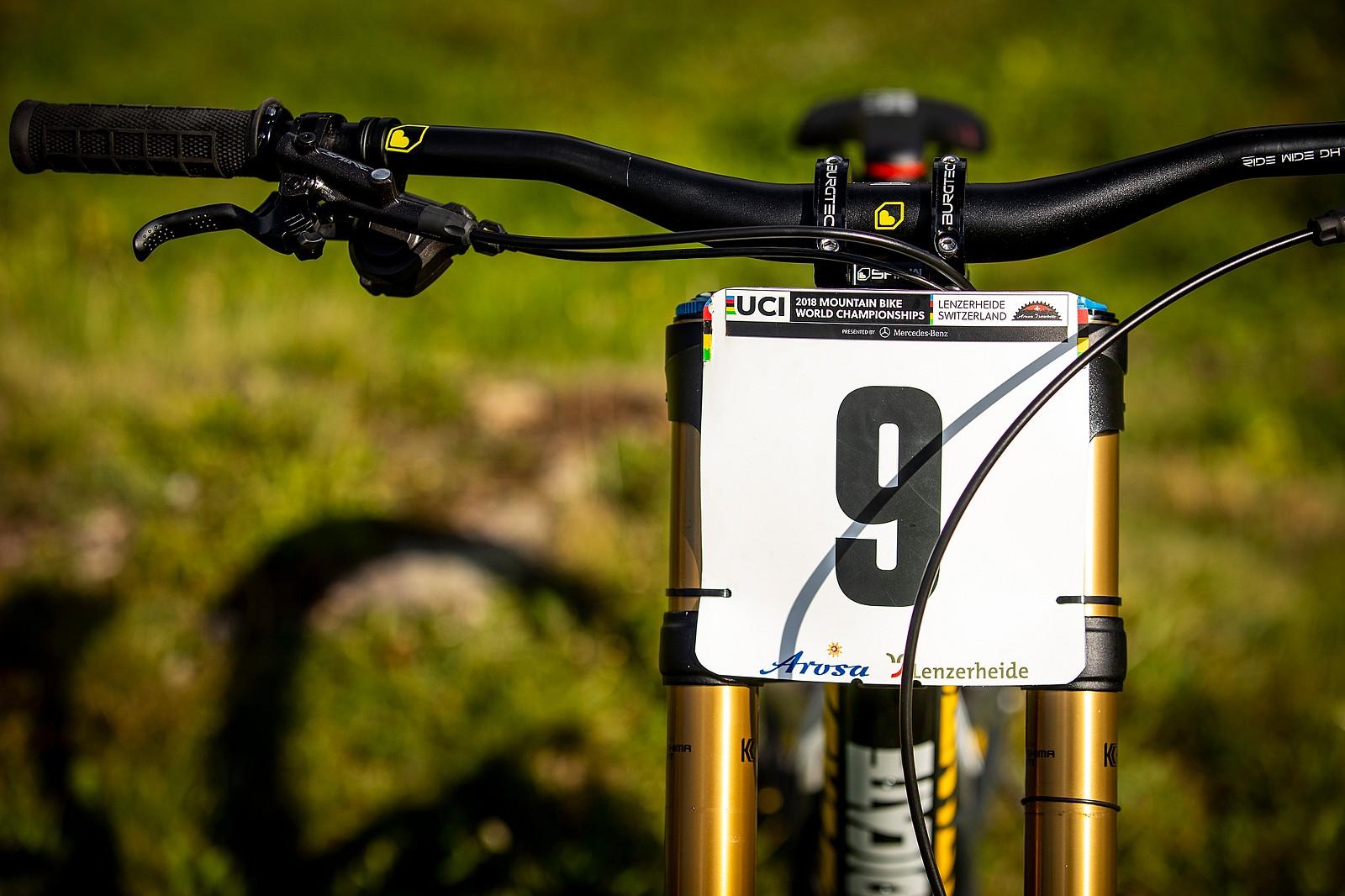 Nine is the Number - WORLD CHAMPS BIKE - Luca Shaw's Santa Cruz V10 - Mountain Biking Pictures - Vital MTB