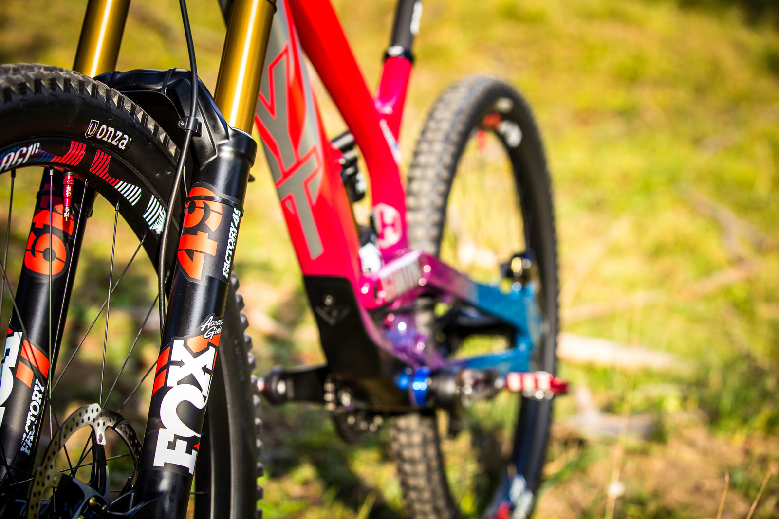 Blinging! - WORLD CHAMPS BIKE - Aaron Gwin's YT TUES - Mountain Biking Pictures - Vital MTB