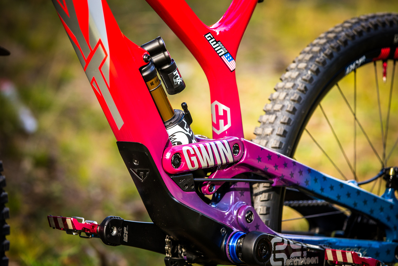 Signed and Sealed - WORLD CHAMPS BIKE - Aaron Gwin's YT TUES - Mountain Biking Pictures - Vital MTB