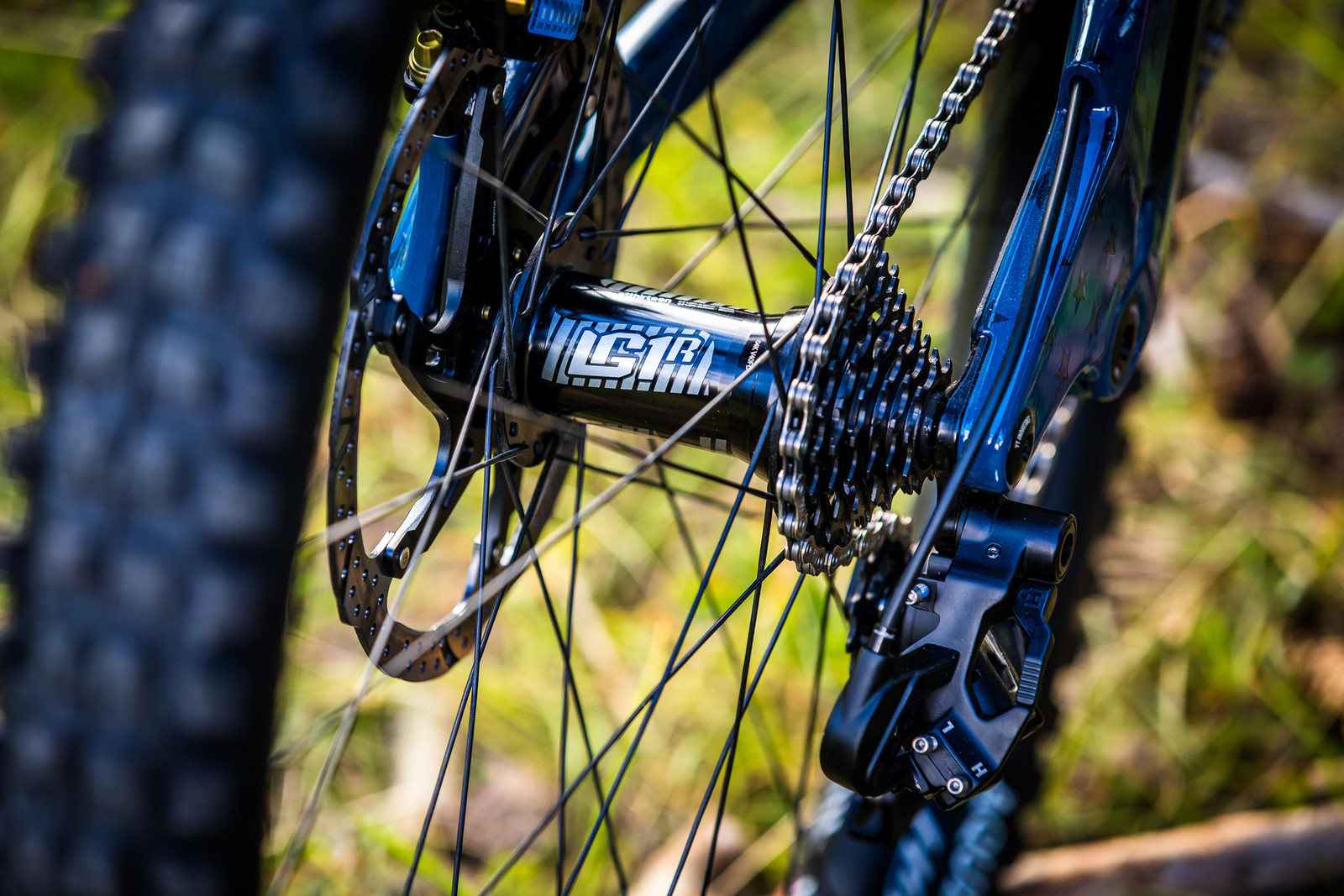 Aaron Gwin's Signature Wheels and Prototype TRP Derailleur - WORLD CHAMPS BIKE - Aaron Gwin's YT TUES - Mountain Biking Pictures - Vital MTB