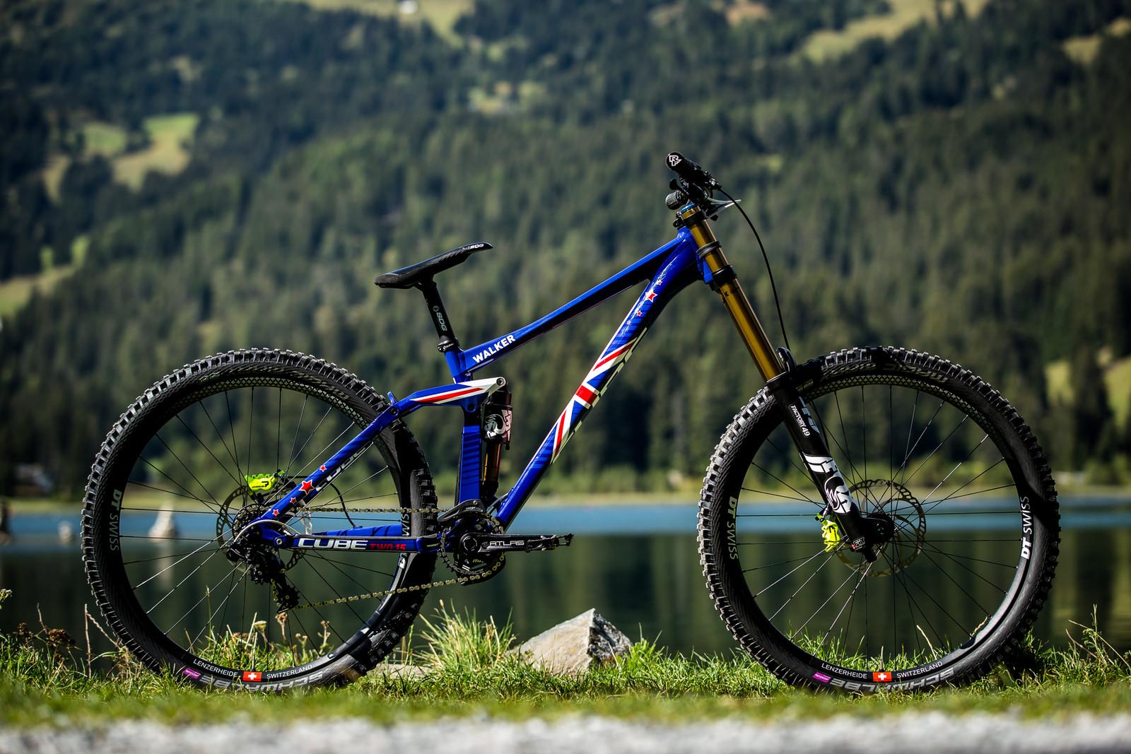 Matt Walker's Cube 215 SL 29 - WORLD CHAMPS BIKES - Matt Walker and Max Hartenstern's Cubes - Mountain Biking Pictures - Vital MTB