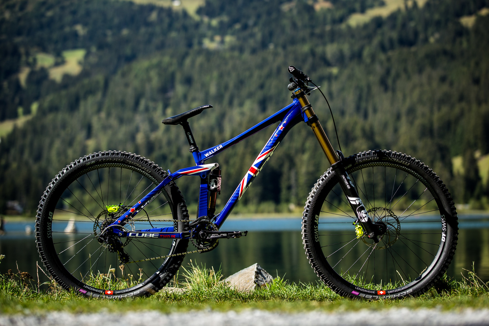 Matt Walker's Cube 215 SL 29 - WORLD CHAMPS BIKES - Matt Walker and Max Hartenstern's Cubes - Mountain Biking Pictures - Vital MTB
