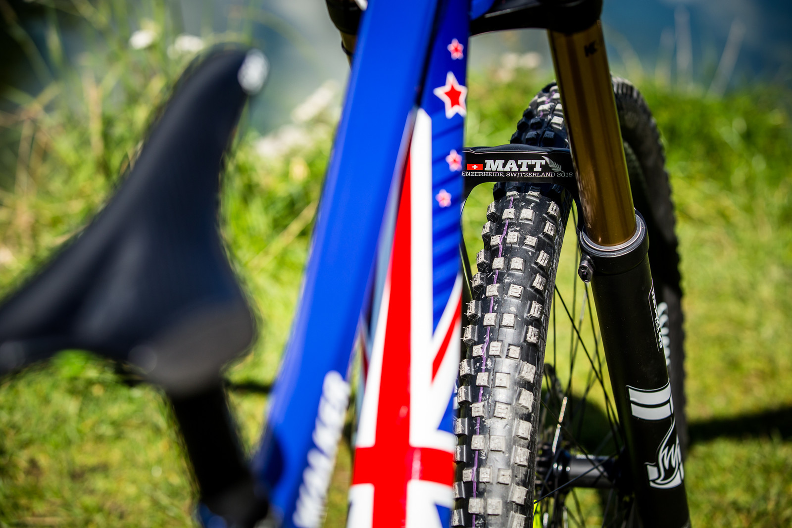 Customization - WORLD CHAMPS BIKES - Matt Walker and Max Hartenstern's Cubes - Mountain Biking Pictures - Vital MTB